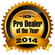 HCN ProDealer of the Year Award 11.14