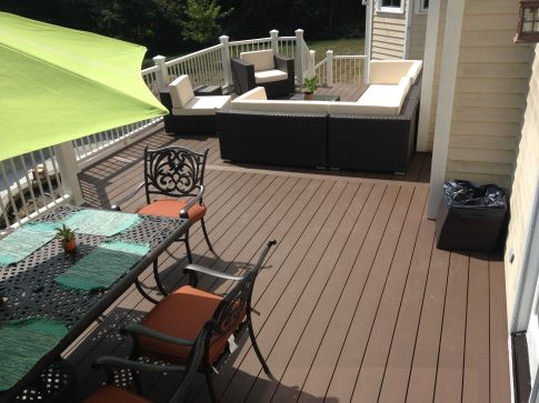 02B.TimberTech SolidColor -- RusticElm