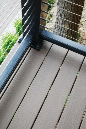 TimberTech AZEK Deck and Railing featured together